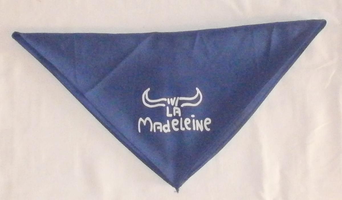 foulards ferias rouge blanc bleu bicolor dax bayonne